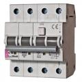 کلید قطع كننده تركیبی 16 آمپر تیپ ETI 3P+N 4M KZS AC / C