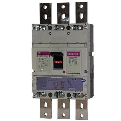 کلید اتوماتیک قابل تنظیم 3P , 1600A ,100kA ETI