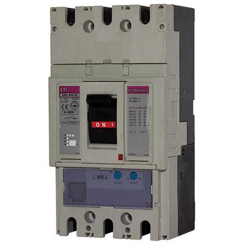 کلید اتوماتیک قابل تنظیم 3P,400A,50k