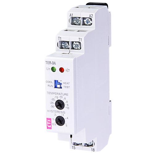 رله کنترل حرارت 30 - تا 10 + سانتیگراد